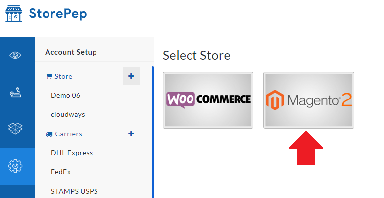 Storepep Magento Integration