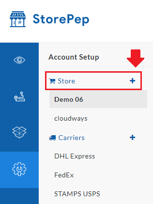 Adding Store in Storepep Settings