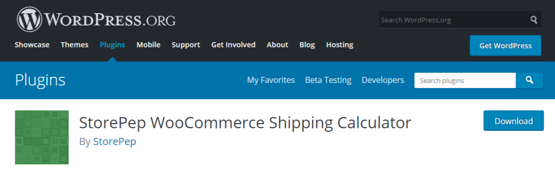 StorePep WooCommerce Shipping Calculator