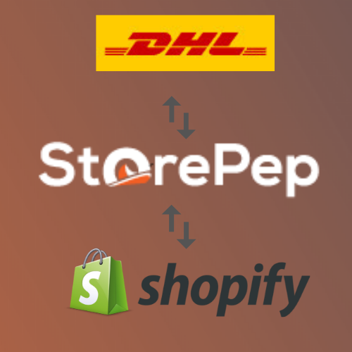 DHL Shipping with Shopify using StorePep