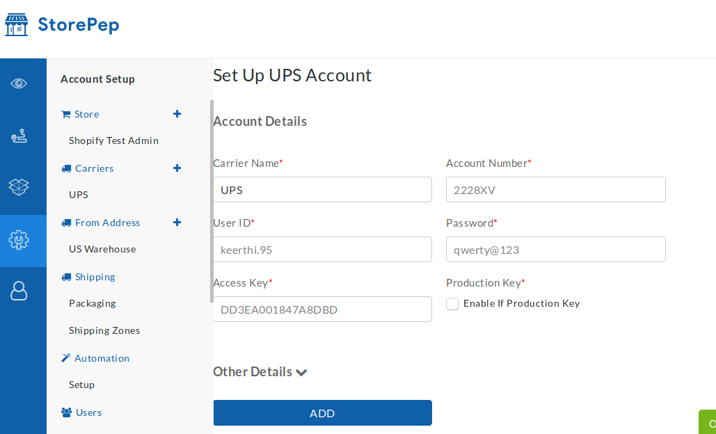 Step By Step Guide To Integrating UPS Carrier Shipping Into