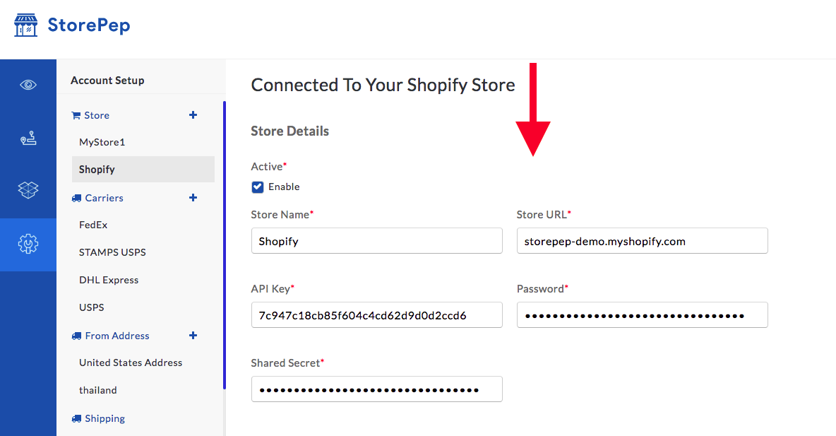 StorePep 101: How To Connect Your Shopify Store To Your StorePep Account